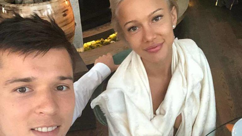 Дмитрий ПОЛОЗ с супругой. Фото Инстаграм