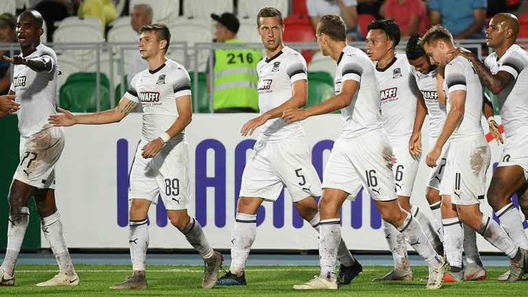 Мяч Вандерсона принёс «Краснодару» победу над «Уфой» вматче 3-го тура РПЛ