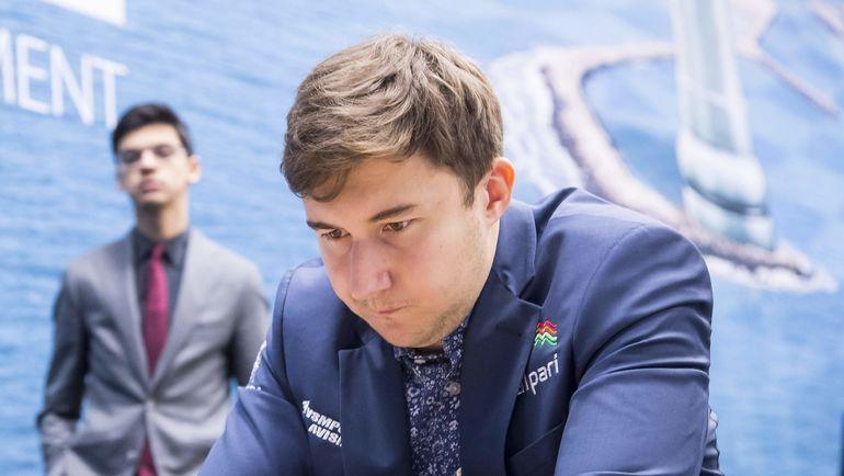 Российский гроссмейстер Сергей КАРЯКИН. Фото AFP
