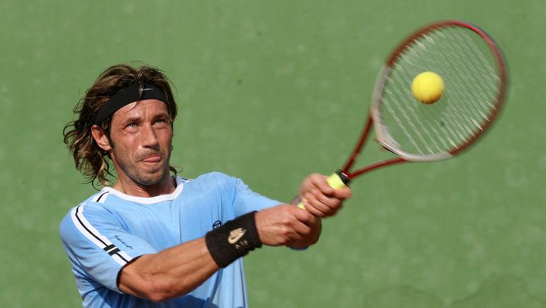 В свободное время Александр увлекался и другими видами спорта. Например, теннисом. Фото Алексей ИВАНОВ