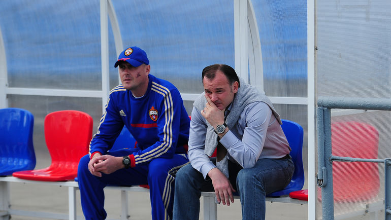 Александр ГРИШИН (справа) и Валерий МИНЬКО. Фото Антон СЕРГИЕНКО