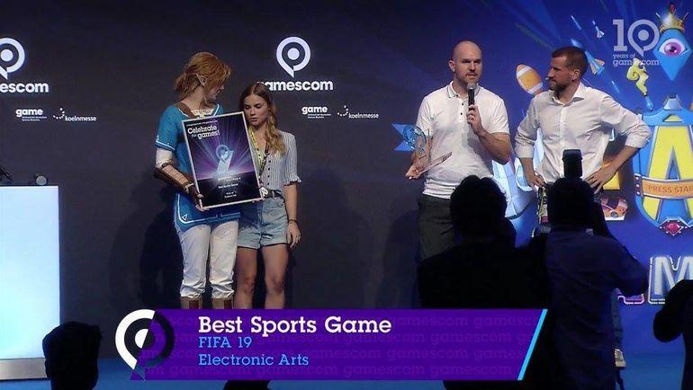 FIFA 19 - лучшая спортивная игра Gamescom. Фото Gamescom