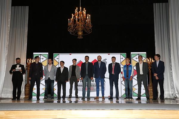 Участники суперфинала 71-го чемпионата России среди мужчин. Фото Этери КУБЛАШВИЛИ