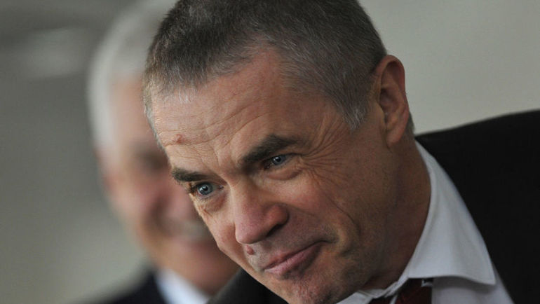 Александр МЕДВЕДЕВ. Фото Татьяна ДОРОГУТИНА