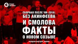 Сборная после ЧМ-2018: без Акинфеева и Смолова