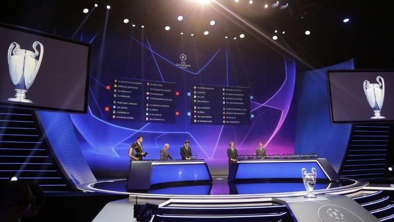 Четверг. Монако. Итоги жеребьевки группового турнира Лиги чемпионов. Фото AFP