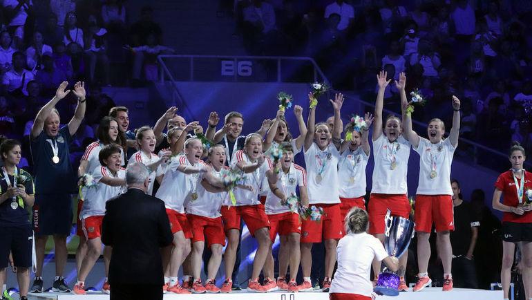 Cтуденческая женская сборная России впервые в истории стала чемпионом мира.