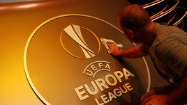 Главные кадры жеребьевки Лиги Европы
