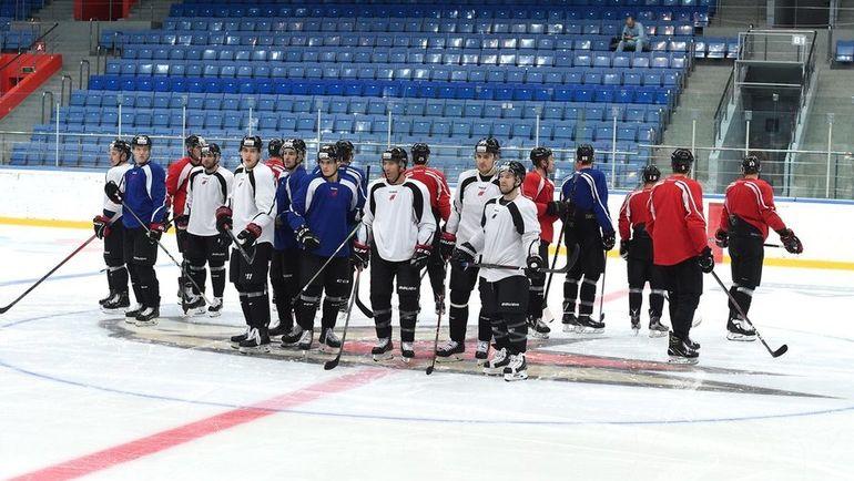"""""""Поприветствуем болельщиков, чтобы было, как в НХЛ"""". """"Авангард"""" приехал в Балашиху"""