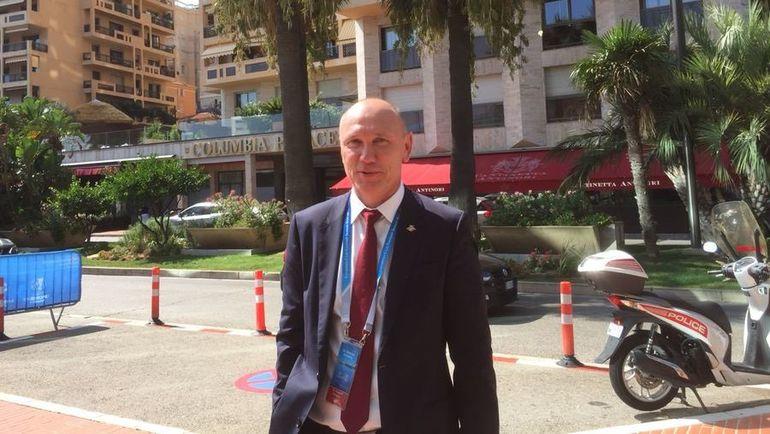 """Сегодня. Монако. Сергей РОДИОНОВ. Фото Игорь РАБИНЕР, """"СЭ"""""""