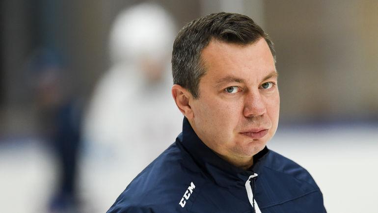 Главный тренер СКА Илья ВОРОБЬЕВ. Фото photo.khl.ru