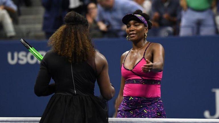 1 сентября. US Open. Серена и Винус УИЛЬЯМС. Фото REUTERS
