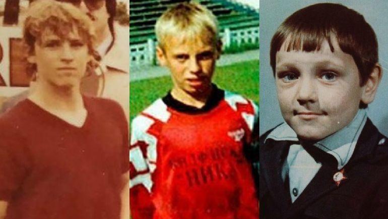 Юные Массимо КАРРЕРА, Денис ГЛУШАКОВ и Дмитрий АЛЕНИЧЕВ.