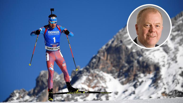 Олле Далин - о войне с допингом и дружбе с Россией. Фото AFP