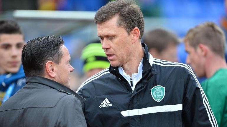 Игорь ЛЕДЯХОВ (справа) и Дмитрий АЛЕНИЧЕВ. Фото Андрей ВАРЕНКОВ