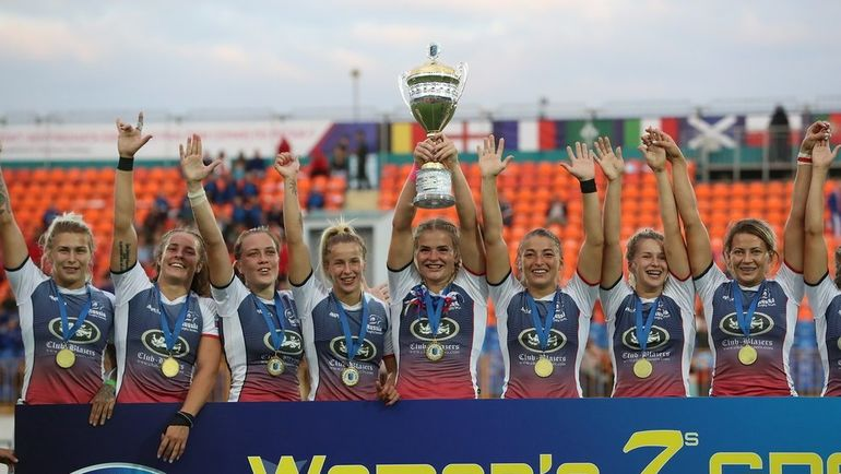 Женская сборная России по регби-7 в пятый раз стала чемпионом Европы! Фото twitter.com/RugbyRussia