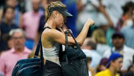 Шарапова покидает US Open. Эмоции