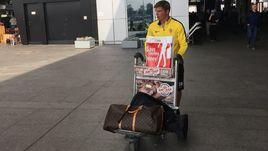 Возвращение Аршавина в Петербург