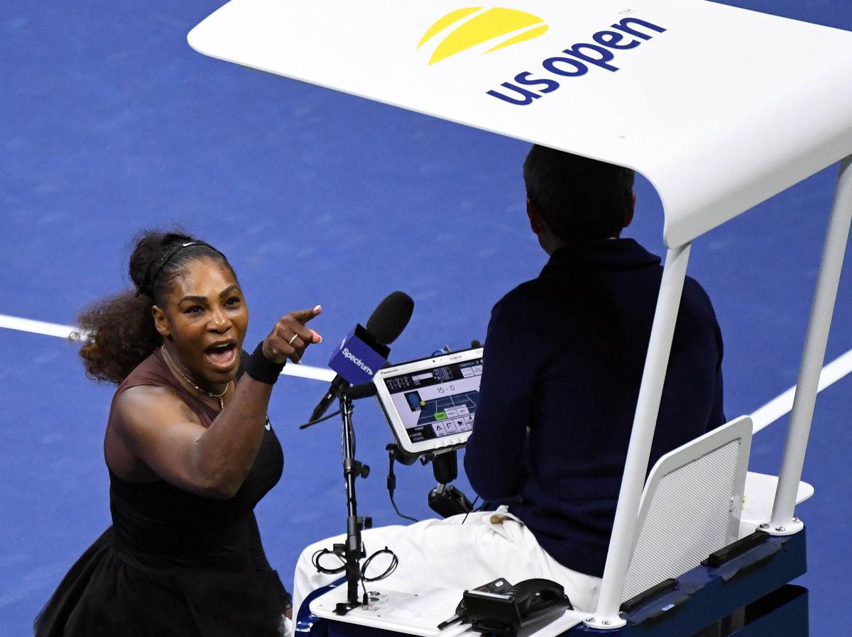 """""""Лжец и вор!"""" Как Серена Уильямс скандалила в финале US Open"""