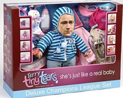 """Слезки Терри. Она прямо как настоящий ребенок""."