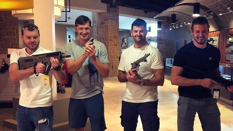 Антон Худобин, Денис Гурьянов, Александр Радулов и Валерий Ничушкин. Фото instagram.com