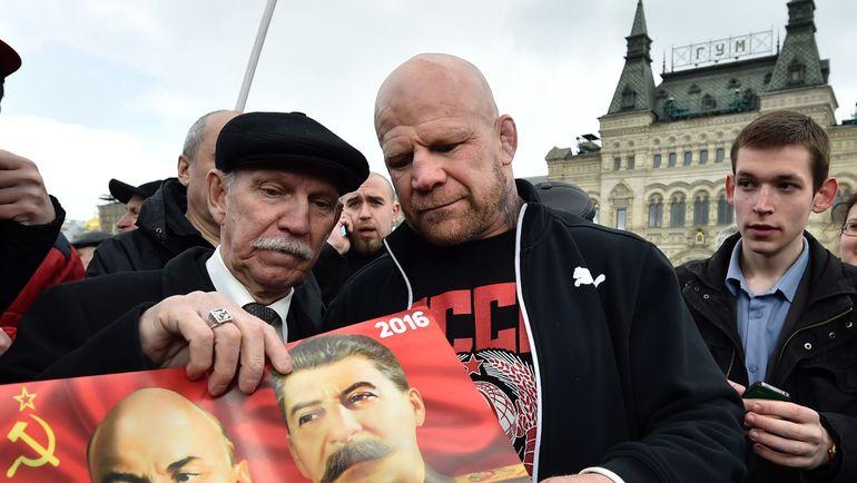 Джефф Монсон (в центре). Фото AFP