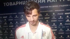 Александр Ерохин - о победе над сборной Чехии