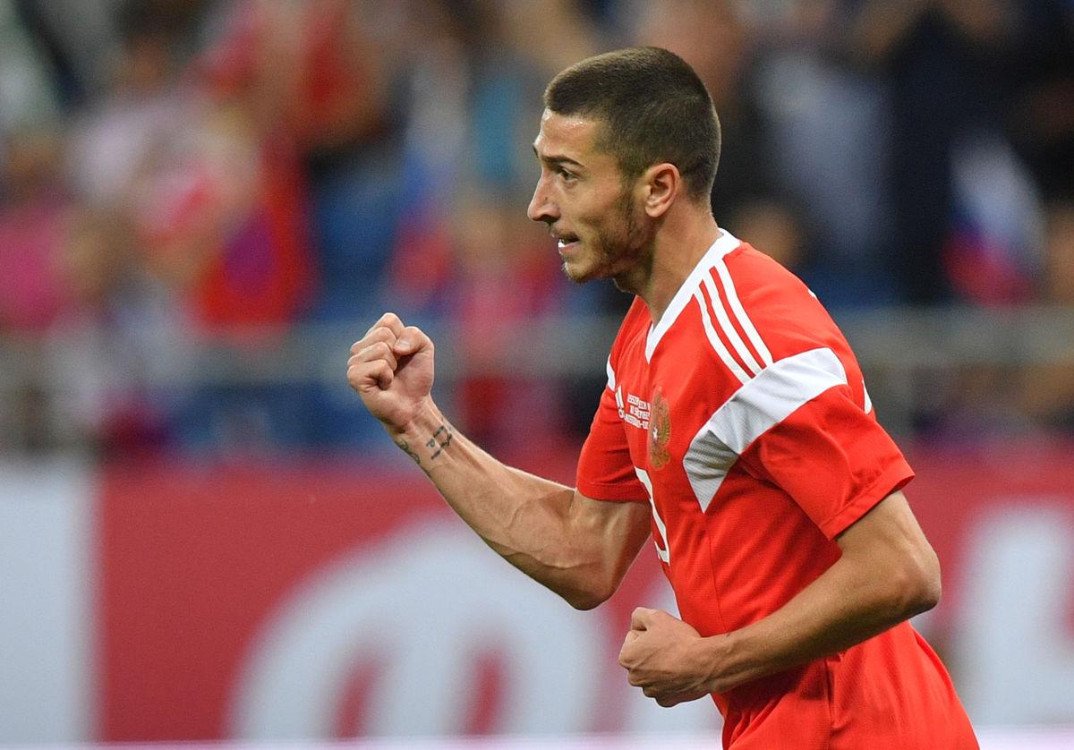 Ионов - 7,0 за матч с Чехией