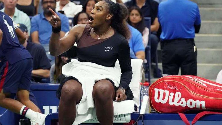 8 сентября. США. Нью-Йорк. Финал женского турнира US Open. Серена Уильямс. Фото AFP