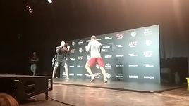 Тренировка Орловского и Крылова накануне турнира UFC в Москве