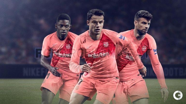 "Третья форма ""Барселоны""."