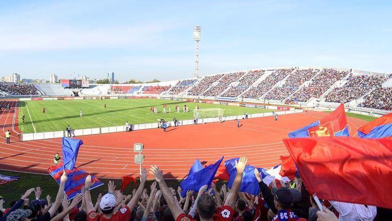 """Стадион """"Центральный"""" в Красноярске. Фото instagram.com/fcenisey/"""