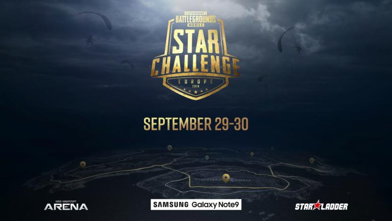 Большой турнир PUBG Mobile Star Challenge.