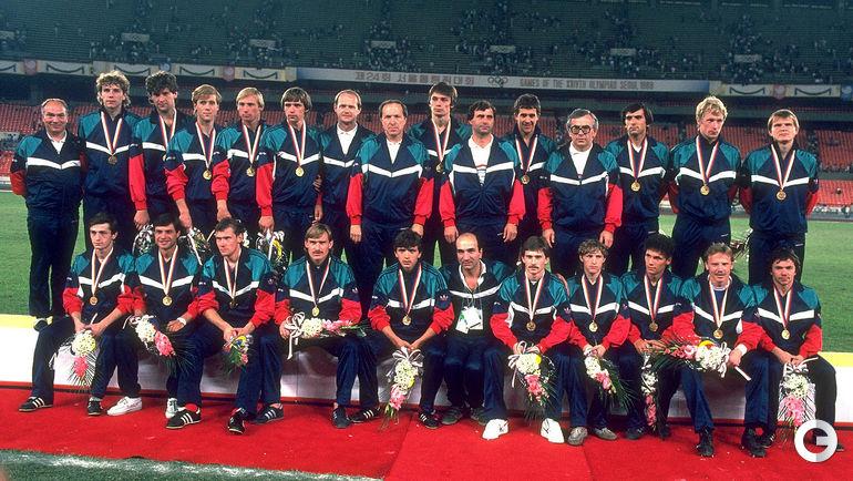 1 октября 1988 года. Сеул. Сборная СССР - олимпийский чемпион.