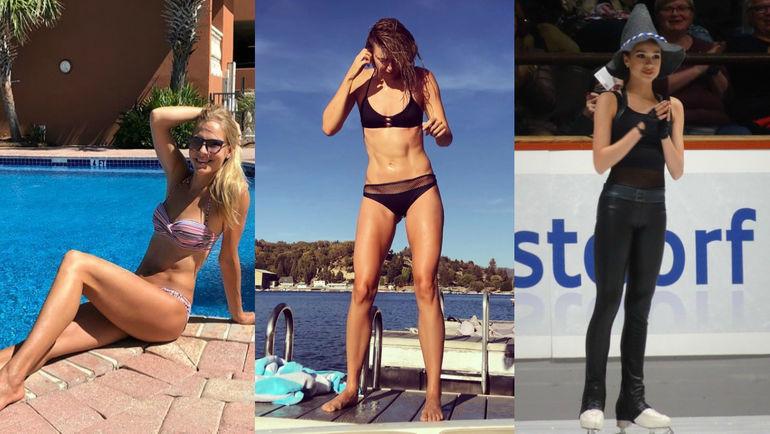 Дарья Клишина, Мария Шарапова и Алина Загитова. Фото instagram.com