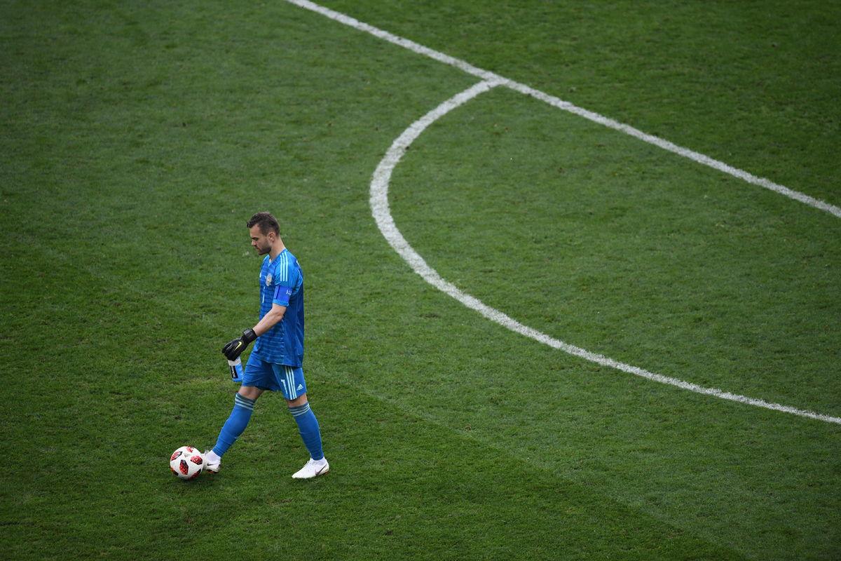 Почему Акинфеев ушел из сборной России
