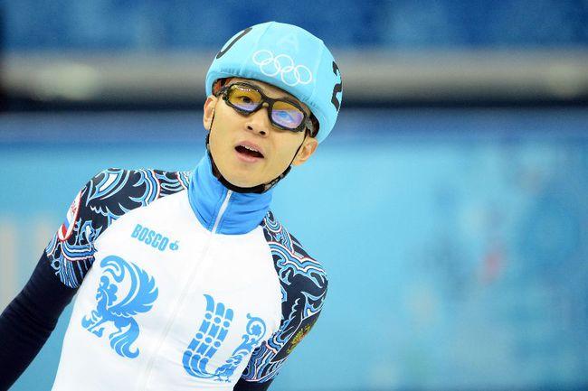Шестикратный олимпийский чемпион Виктор АН. Фото AFP