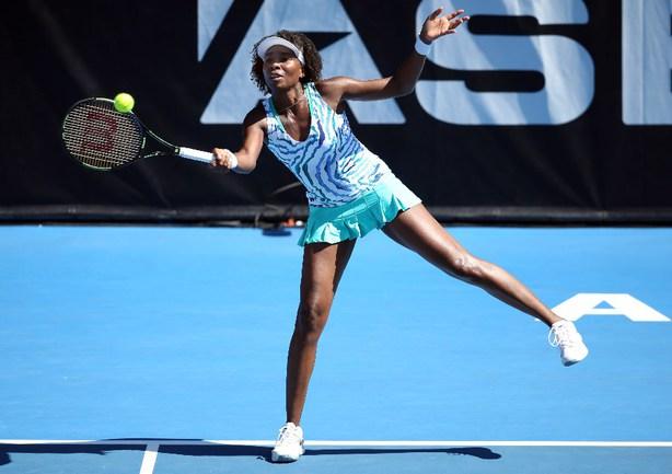 Американская теннисистка Винус УИЛЬЯМС Фото AFP
