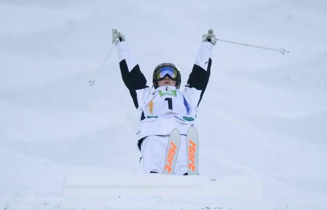 Олимпийская чемпионка Жюстин ДЮФУР-ЛАПУАНТ. Фото AFP
