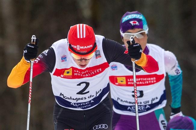Немецкий двоеборец Эрик ФРЕНЦЕЛЬ. Фото AFP