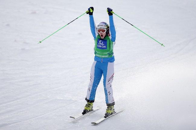 Андреа ЛИМБАХЕР Фото AFP