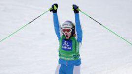 Лимбахер завоевала золото в ски-кроссе на чемпионате мира