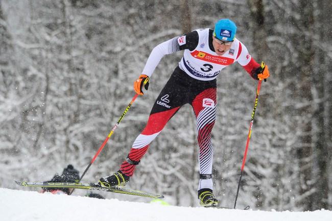 Австрийский двоеборец Бернхард ГРУБЕР. Фото AFP