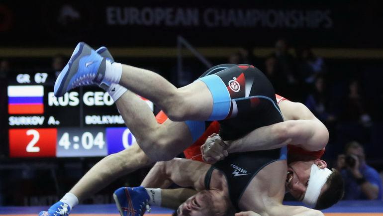 Артем Сурков в финале ЧЕ-2018. Фото Григорий Аванян