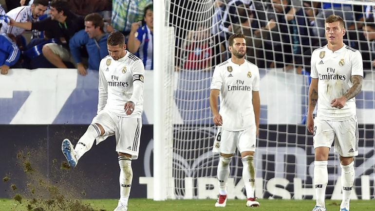 """""""Реал"""" кошмарен. Почти семь часов без голов и новое поражение"""