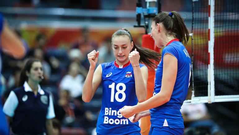 Сборная России победила Болгарию на чемпионате мира. Фото fivb.org