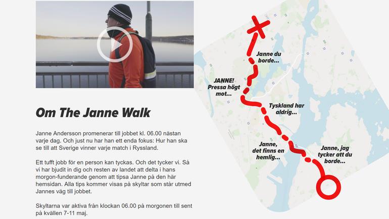 Сайт, посвященный Янне Андерссону.