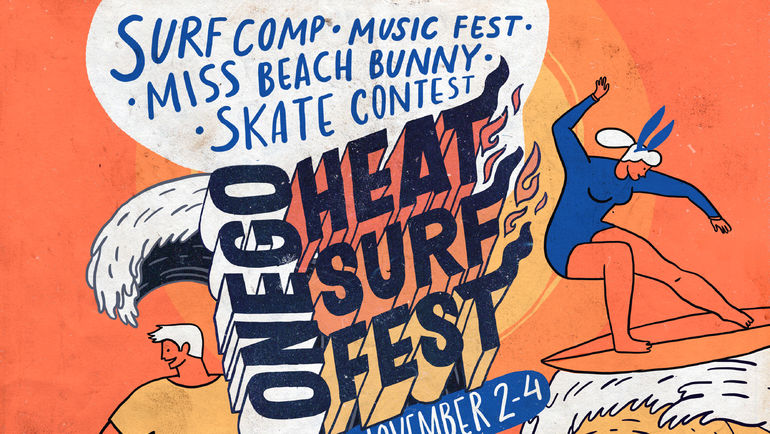 ONEGO HEAT SURF FEST.
