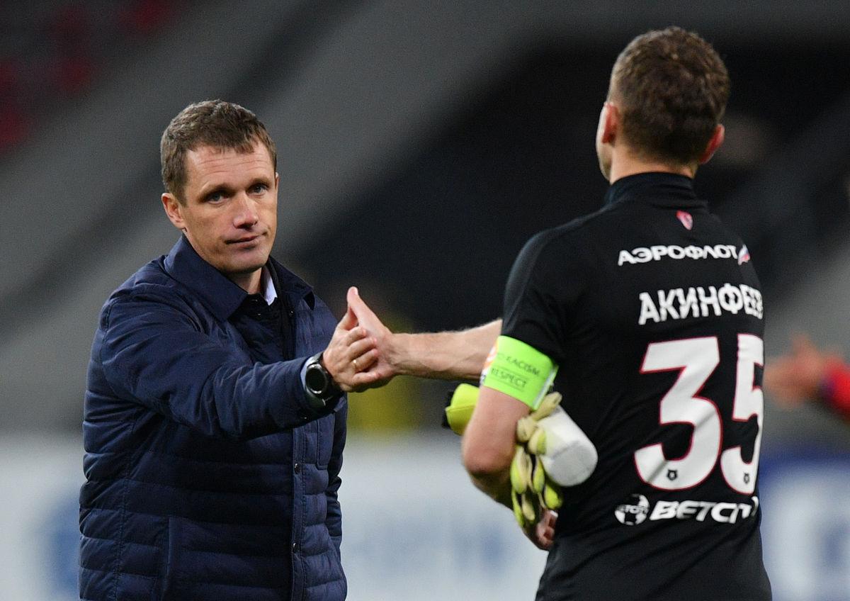 """Виктор Гончаренко: """"Ждем, когда Дзагоев сможет решать исходы матчей, как это было раньше"""""""