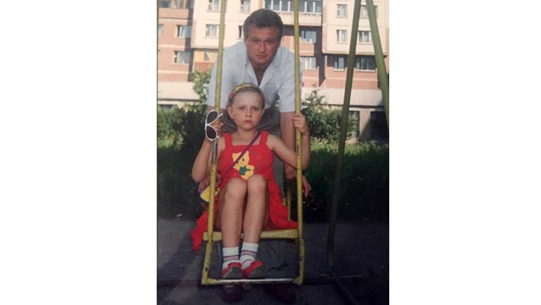Дарья Долгополова и ее отец Владимир Долгополов. Фото Из личного архива Дарьи Долгополовой